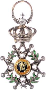 Order of Leopold, Miniature Grand Cross, Civil Division