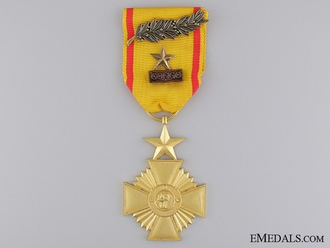 Military Cross, in Gold Obverse