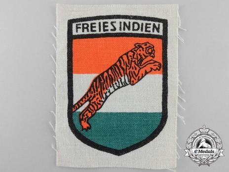 German Army Free Indian Legion Sleeve Insignia Obverse