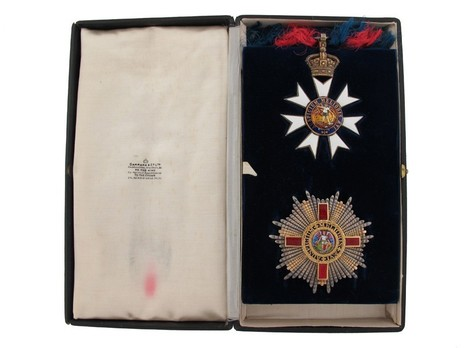 Grand Cross (with Silver-gilt by Garrard) in Set of Issue