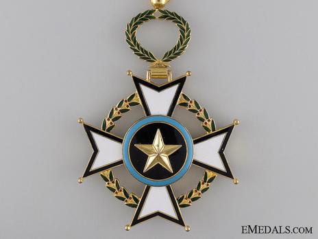 Order of Central African Merit, Commander Obverse