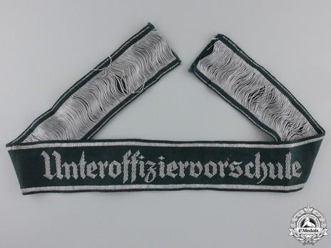 German Army Unteroffiziervorschule Cuff Title Obverse