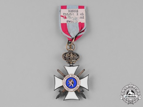 I Class Knight's Cross with Swords (with crown) Reverse