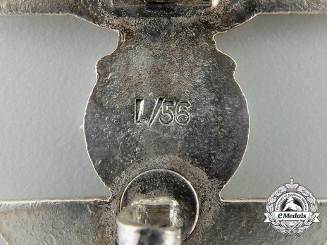 Clasp to the Iron Cross I Class, Type II, by Funcke & Brüninghaus (L/56) Detail