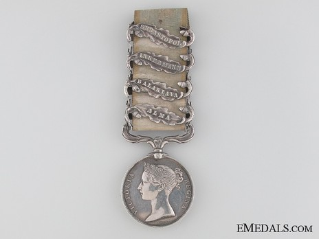 Silver Medal (with 4 clasps) Obverse