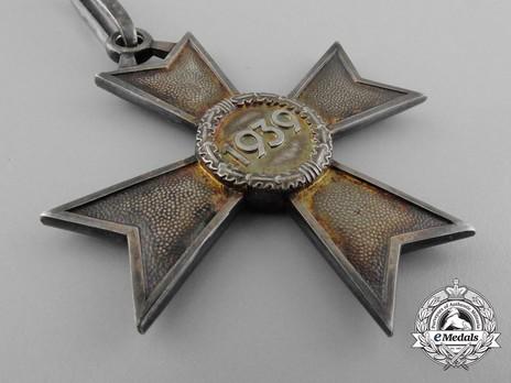 Knight's Cross of the War Merit Cross without Swords, by Deschler (unmarked) Reverse