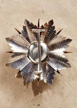 Order of the Star of Brabant, Grand Cross Breast Star