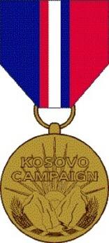 Kovoso Campaign Medal Obverse