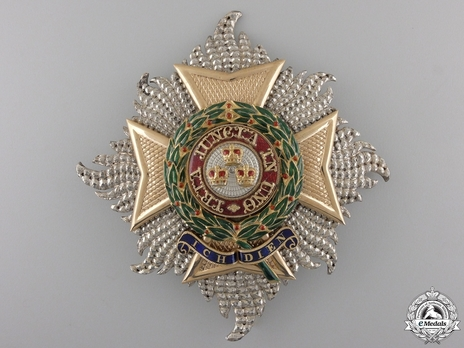 Grand Cross Breast Star (by Garrard) Obverse