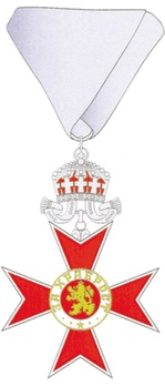 Order for Bravery, II Class Obverse