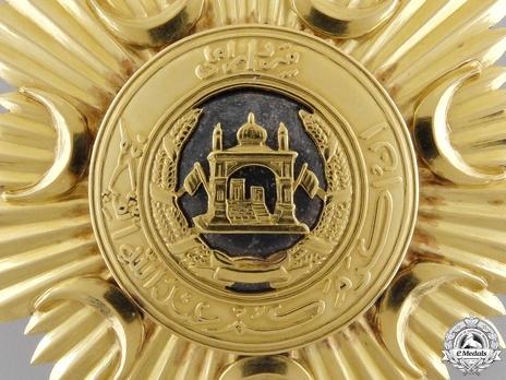 Order of the Leader (Nishan-i-Sadari), I Class Grand Cordon Breast Star (Sardar-i-A'ala) Obverse