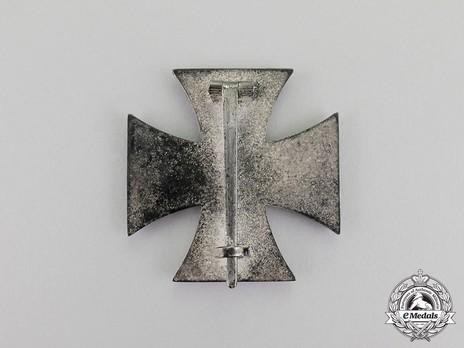 Iron Cross I Class, by C. F. Zimmermann (L/52) Reverse