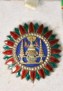 Order of the Crown of Thailand, Type I, Grand Commander Breast Star, II Class
