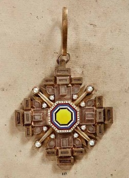 Order of the Pillars of the State, II Class Grand Officer