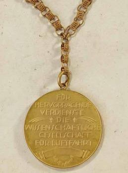 Lilienthal Commemorative Medal Reverse