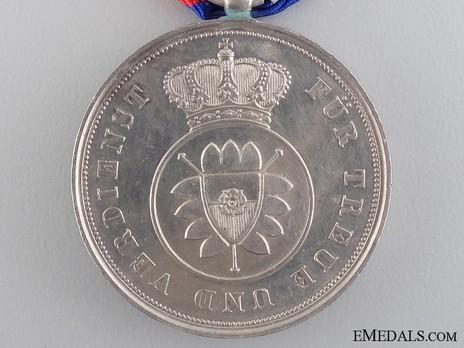 Merit Medal in Silver, Type II Reverse