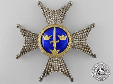 I Class Commander Breast Star (with silver and silver gilt) Obverse