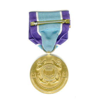 Coast Guard Distinguished Service Medal Reverse