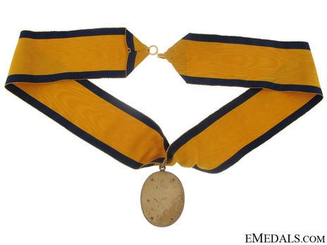 Gold Medal (for Baronets of England, 1929-) (Silver gilt) Reverse