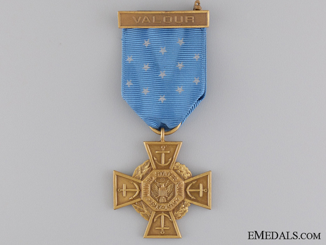 "Decoration (""Tiffany Cross,"" 1919-1942) Obverse"