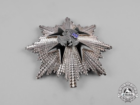 Order of the Eagle Cross, I Class Breast Star Obverse