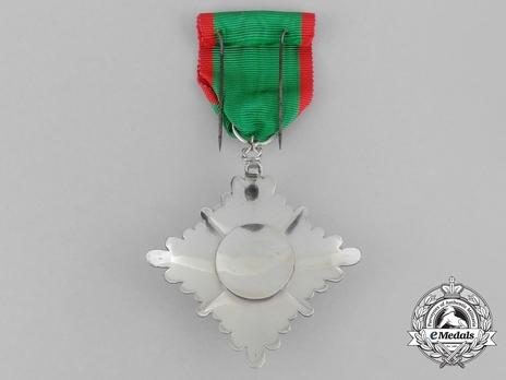 Order of Homayoun, V Class Knight Reverse