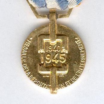 "Bronze Medal (stamped ""MAB"") Obverse"