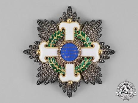 Order of San Marino, Type I, Civil Division, Grand Cross Breast Star