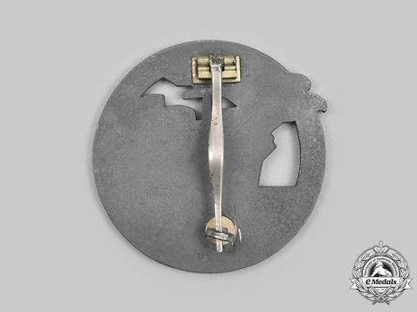 Blockade Runner Badge, by B. H. Mayer Reverse