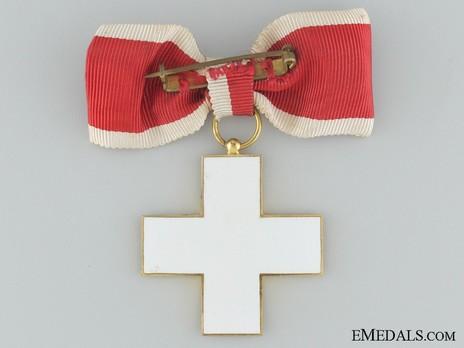 Cross of Honour of the German Red Cross, Type II, Ladies Cross Reverse