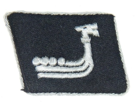 Waffen-SS 'Wiking' Division Officer Collar Tab Obverse