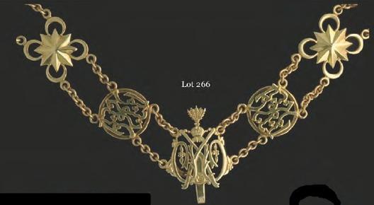 The Most Illustrious Order of Cura Si Manja Kini, Type I, Grand Knight Collar