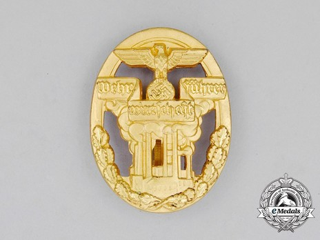 Defence Economy Leader Decoration (in gilt aluminum) Obverse