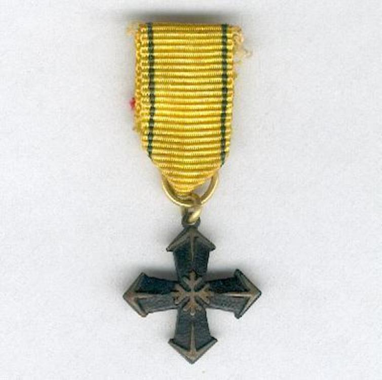 Mini bronze cross obv s2