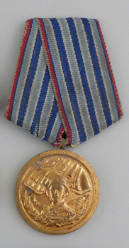 Medal for Honourable Service to the Armed Forces, III Class (for 10 Years) Obverse