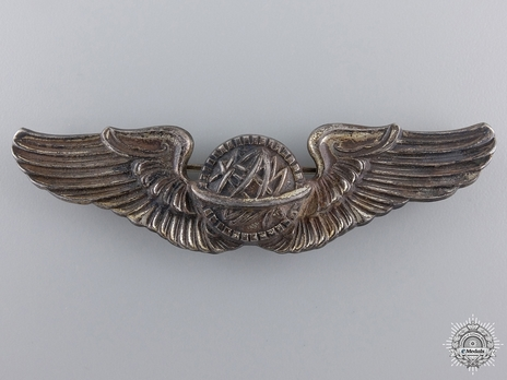 """Wings (with sterling silver) (by N.S. Meyer, stamped """"N.S. MEYER, INC. NEW YORK"""") Obverse"""