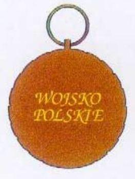 Polish Army Medal, III Class Reverse