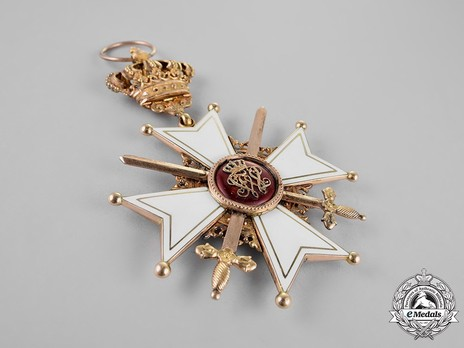 Grand Cross with Swords (in gold) Obverse