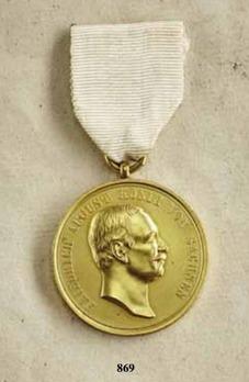 Life Saving Medal, Type VI, in Gold