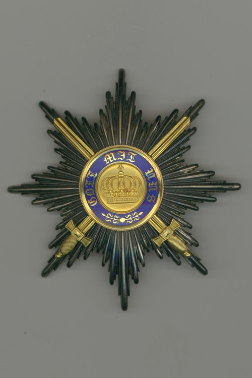 Preussenkronenorden1klassesternmitschwerterngoldwagnerav