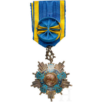 Order of the Republic, Officer (with Lily Suspension), Hermann Historica,