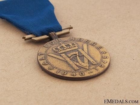 King Haakon VII Freedom Medal Obverse
