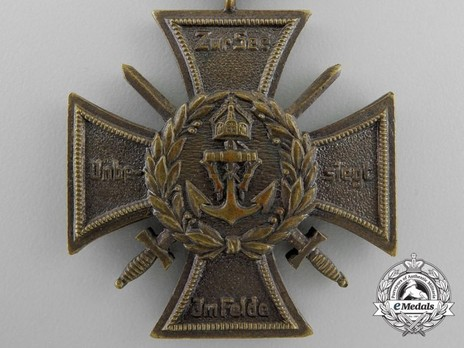 Commemorative Honour Cross of the Navy Corps, Flanders Obverse