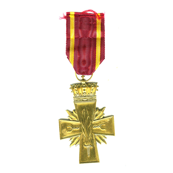 Resistance Cross (1940-1946), in Bronze Reverse