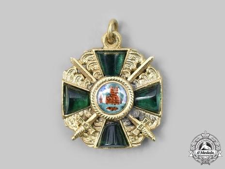 Order of the Zahringer Lion, Grand Cross Miniature