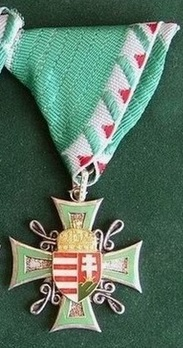 Non-Commissioned Officer Service Decoration, III Class (for 10 Years) Obverse