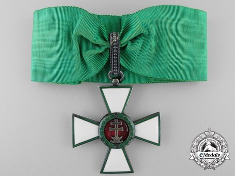 Hungarian Order of Merit, Commander, Civil Division Obverse