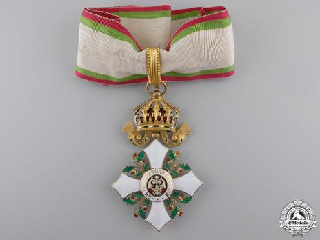 Order of Civil Merit, Type II, II Class Grand Officer Obverse
