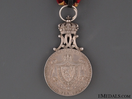 Coronation Medal 1906 in Silver Reverse