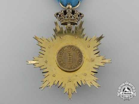 Knight (Silver gilt and gold by J. A. Da Costa) Reverse